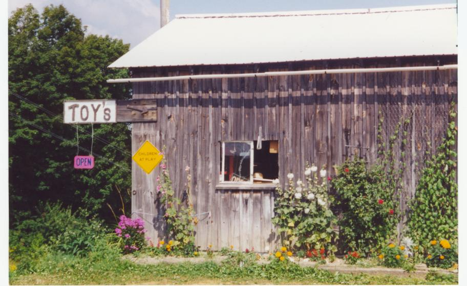 Photo circa 2008 of Amish Toy Shop