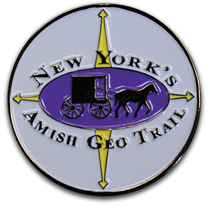 Front of NYAGT Geocoin Part 1
