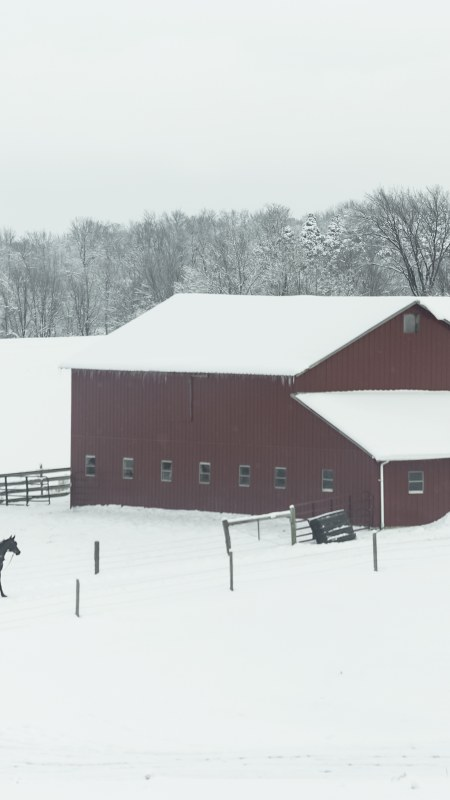 Amish Country in Winter