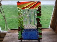 Glass Creation from the Rose Garden