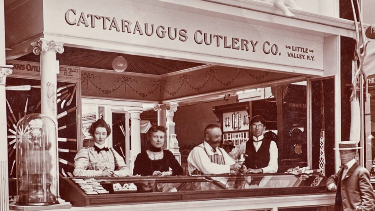 Cattaraugus Cutlery Company at the 1901 Pan-Am Exhibition